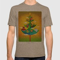 A Very Filipino Christma… Mens Fitted Tee Tri-Coffee SMALL
