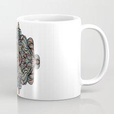 Abstract Waves of Thoughts Mug