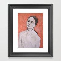Ghostly Lure  Framed Art Print