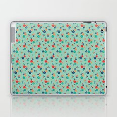 blossom ditsy in grayed jade Laptop & iPad Skin