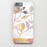 Flowers On Wood iPhone 6 Slim Case