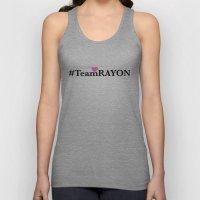 #TeamRAYON Pink - Heart  Unisex Tank Top