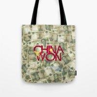 China Won Tote Bag