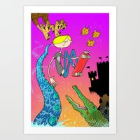 Have Fun Storming the Castle! Art Print