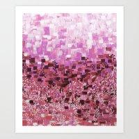 :: Pink Compote :: Art Print