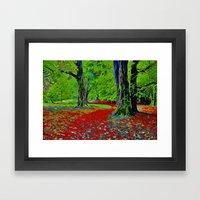 Fantasy Woodland Framed Art Print