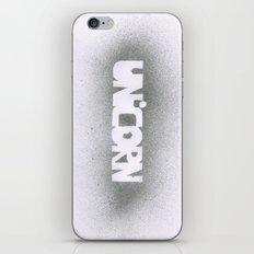 UNICORN.  iPhone & iPod Skin