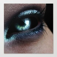 Dark Eye Canvas Print