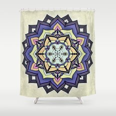 Sarah's Calicot Dress Shower Curtain