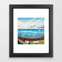 A Bridge Too Far Framed Art Print