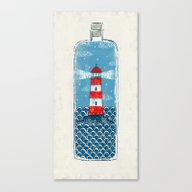 Lighthouse - Limited Tim… Canvas Print