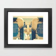 Sol solete Framed Art Print