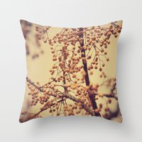 Autumn Life (III) Throw Pillow