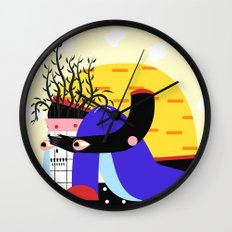 disappear Wall Clock