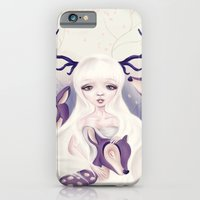 iPhone & iPod Case featuring Deer: Protection Series by parochena