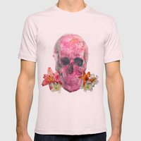 Pretty Reckless  Mens Fitted Tee Light Pink SMALL