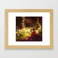 Forest etc. Framed Art Print