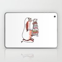 Boogle Vs. Hamburger Laptop & iPad Skin