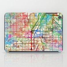 Las Vegas City Street Map iPad Case