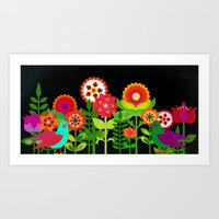 seventies bliss Art Print