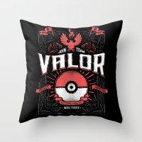 A Valorous Decision Throw Pillow