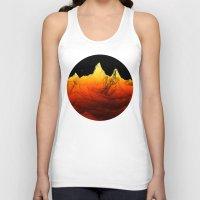 Sci Fi Mountains Landscape Unisex Tank Top