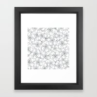 Cherry Blossom Blue - In Memory of Mackenzie Framed Art Print