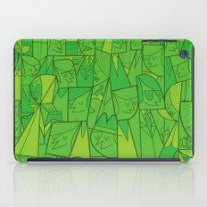 Citystreet (green version) iPad Case