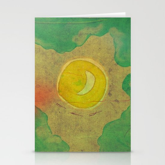 citrus moon Stationery Card