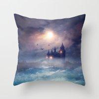 Sunset I C. III Throw Pillow