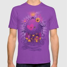 Walker Of the Darkness SMALL Ultraviolet Mens Fitted Tee