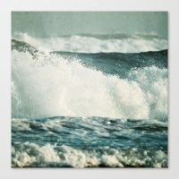 Splash ! Canvas Print