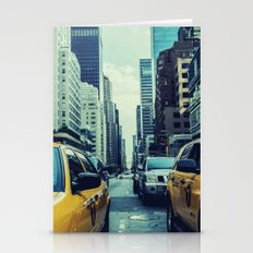 New York Yellow Cabs Stationery Cards