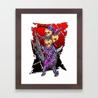 METAL MUTANT 2 Framed Art Print
