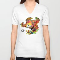 Clumsy Mornings Unisex V-Neck