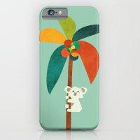 Koala On Coconut Tree iPhone 6 Slim Case