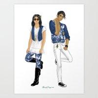 Fashion Journal: Day 17 Art Print