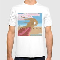 In The Wind Mens Fitted Tee White SMALL