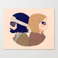 Margot and Richie Canvas Print