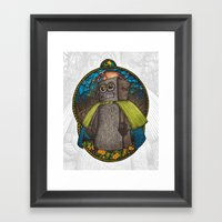 The Forest Guard Framed Art Print