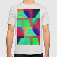 Colorful Truth. Green. Mens Fitted Tee Silver SMALL