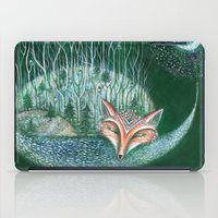 White Forest iPad Case