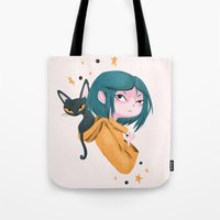 Twitchy, Witchy Girl Tote Bag