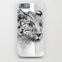 iPhone & iPod Case featuring Leopard by Anna Tromop Illustration