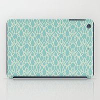 Lluvia Azul iPad Case