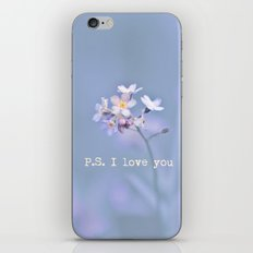 P.S. I love you iPhone & iPod Skin