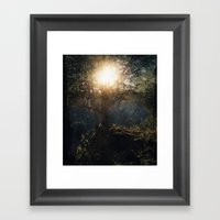 A Special Kind Of Night Framed Art Print
