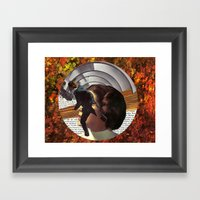 Portal To Mars Framed Art Print