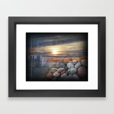 Lake Superior Memories Framed Art Print