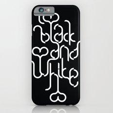 I love black and white Slim Case iPhone 6s